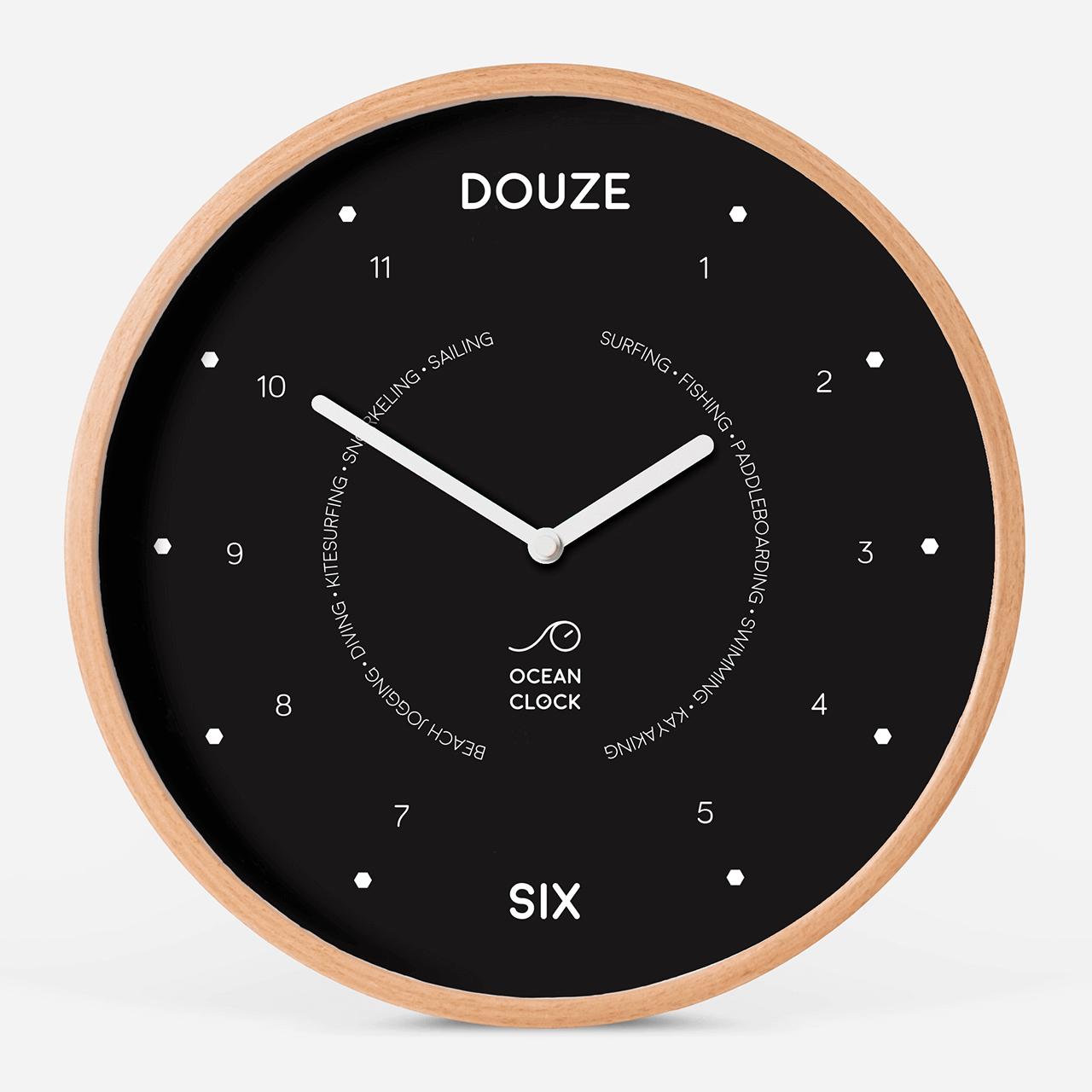 Horloge des marées Black - 1