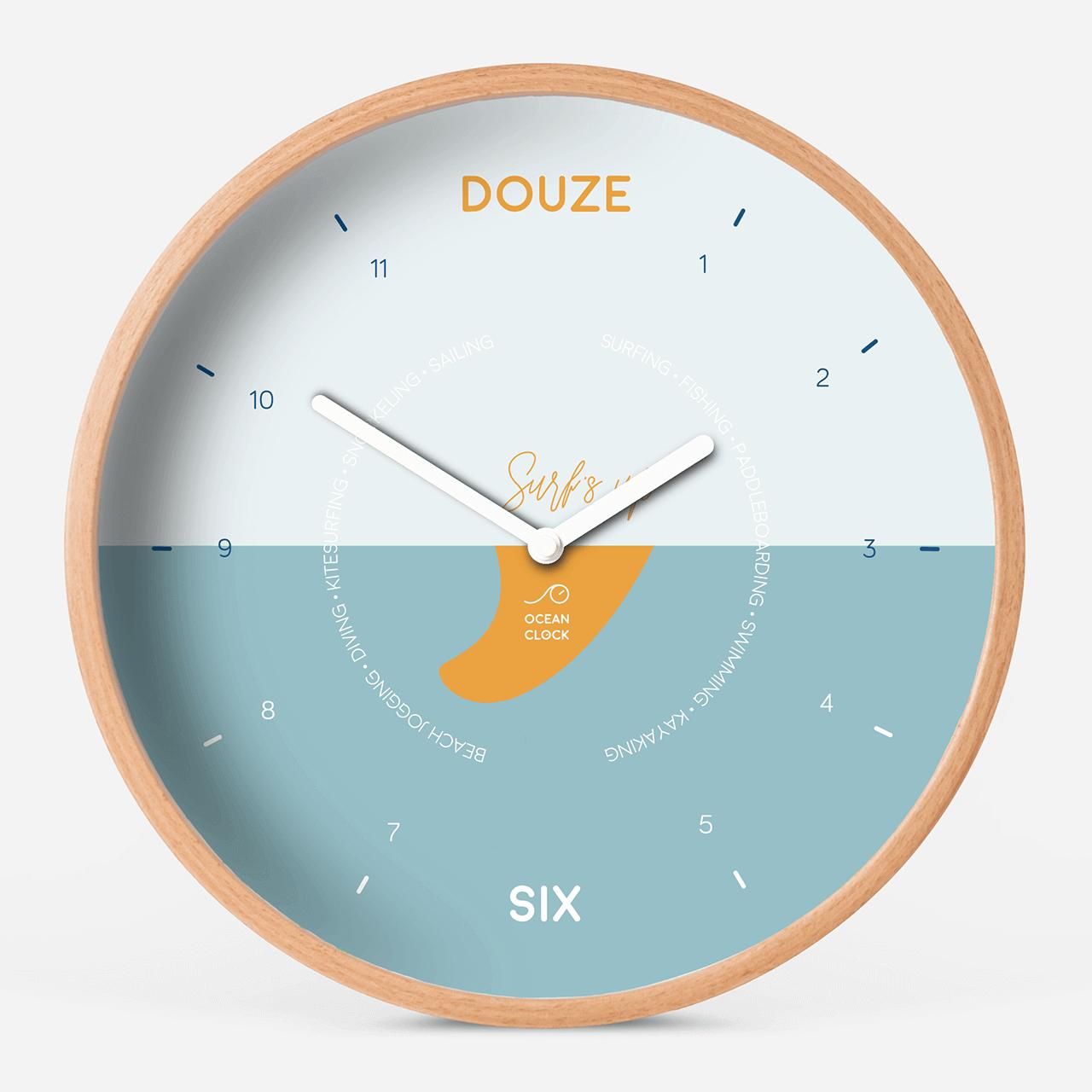 Horloge des marées Surf's up - 1