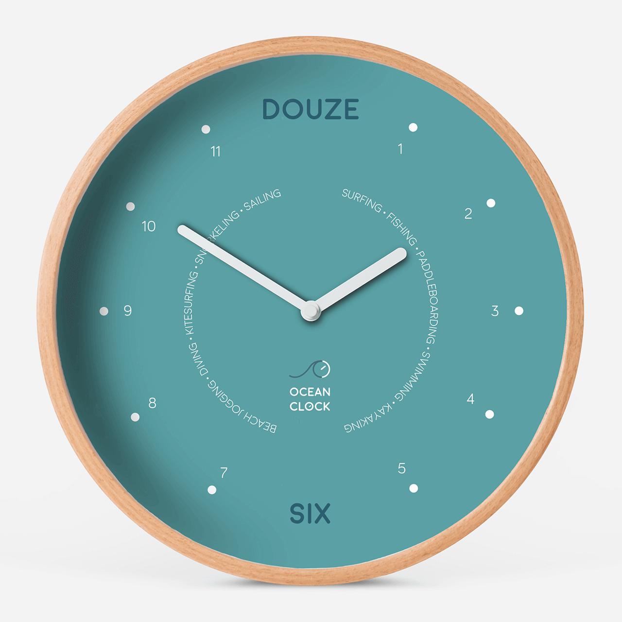 Horloge des marées Arctic Blue - 1