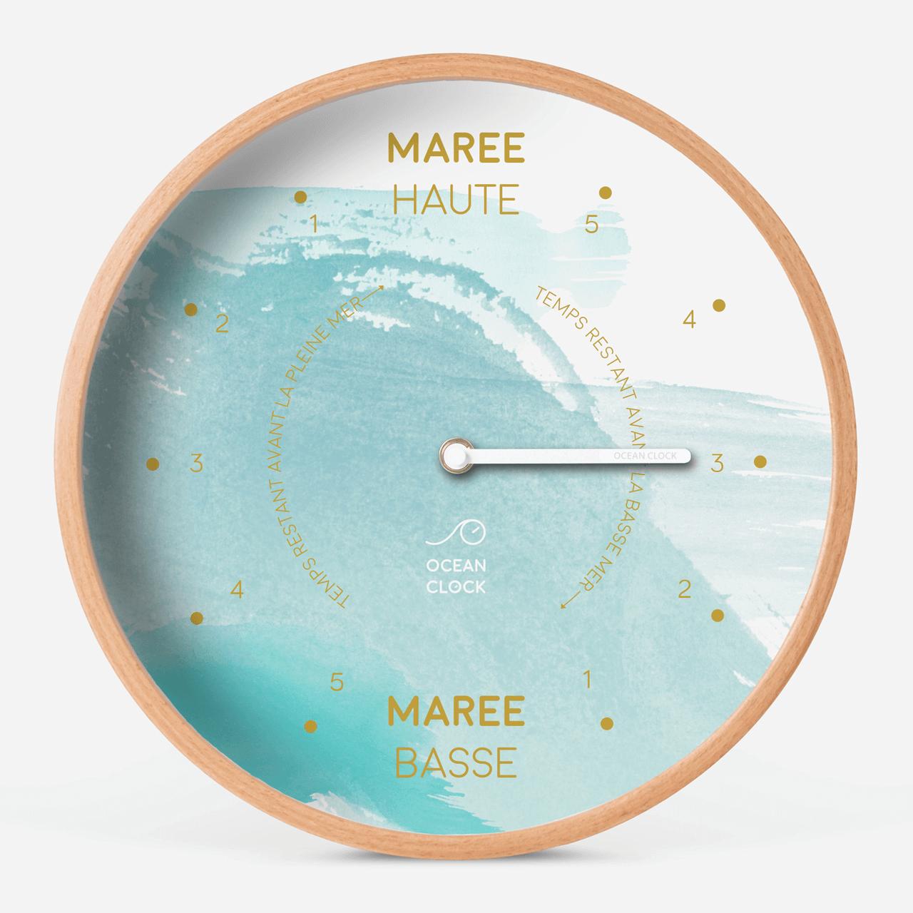 Horloge des marées Aqua - 1