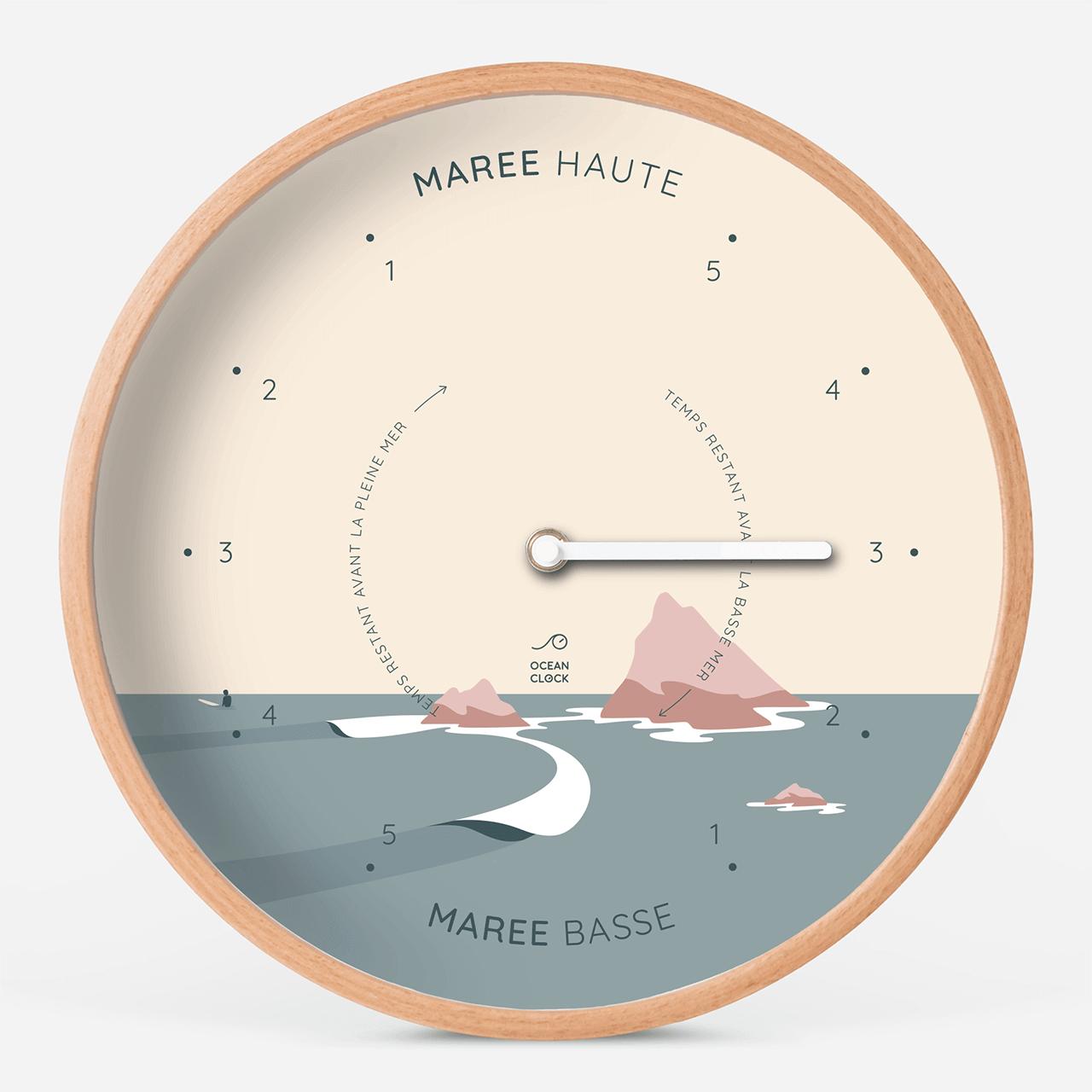 Horloge des marées Sunset - 1