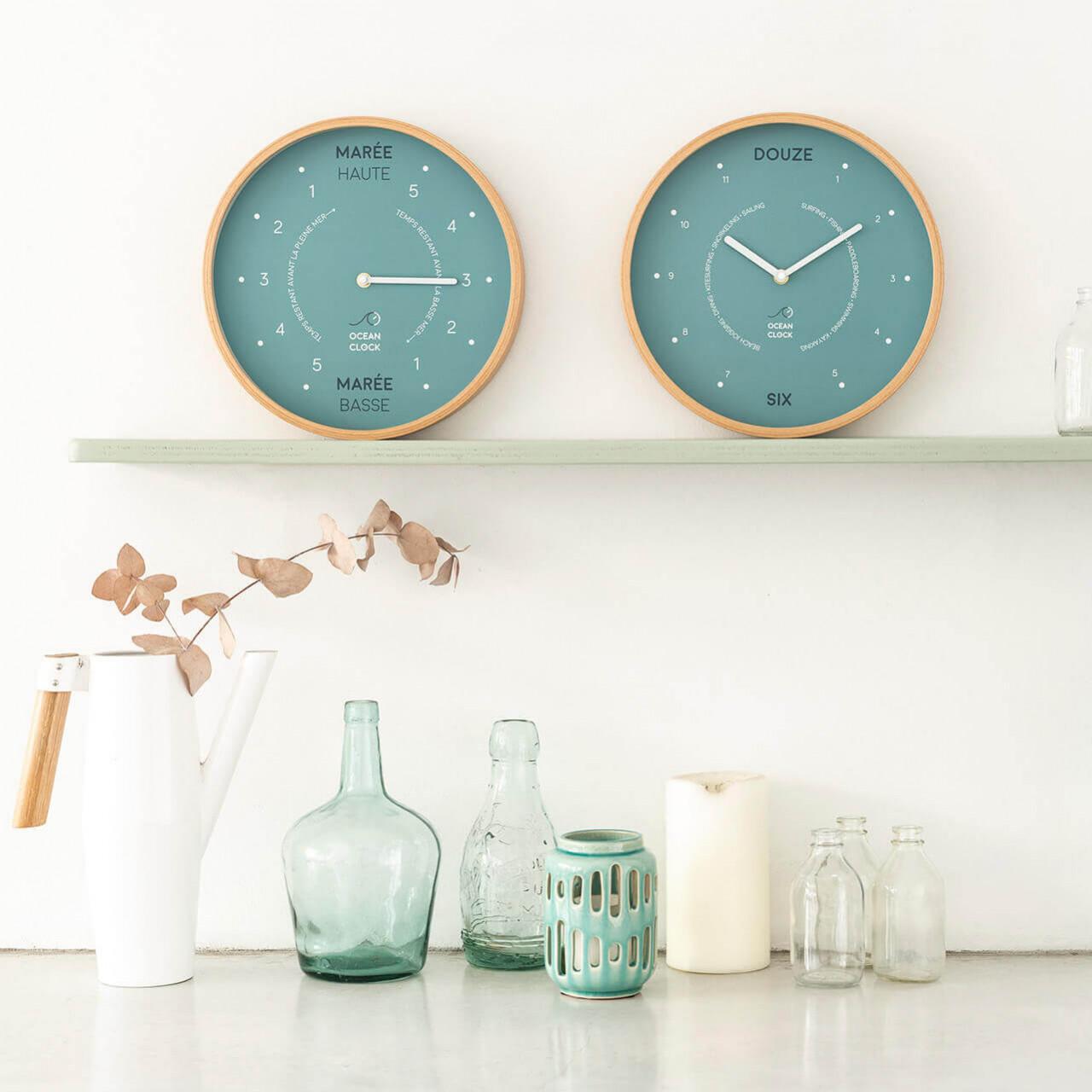 Horloge des marées Arctic Blue - 2