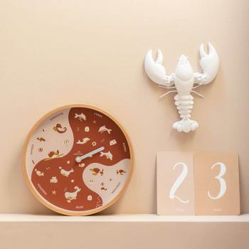 Horloge des marées Terracotta & sable - 3