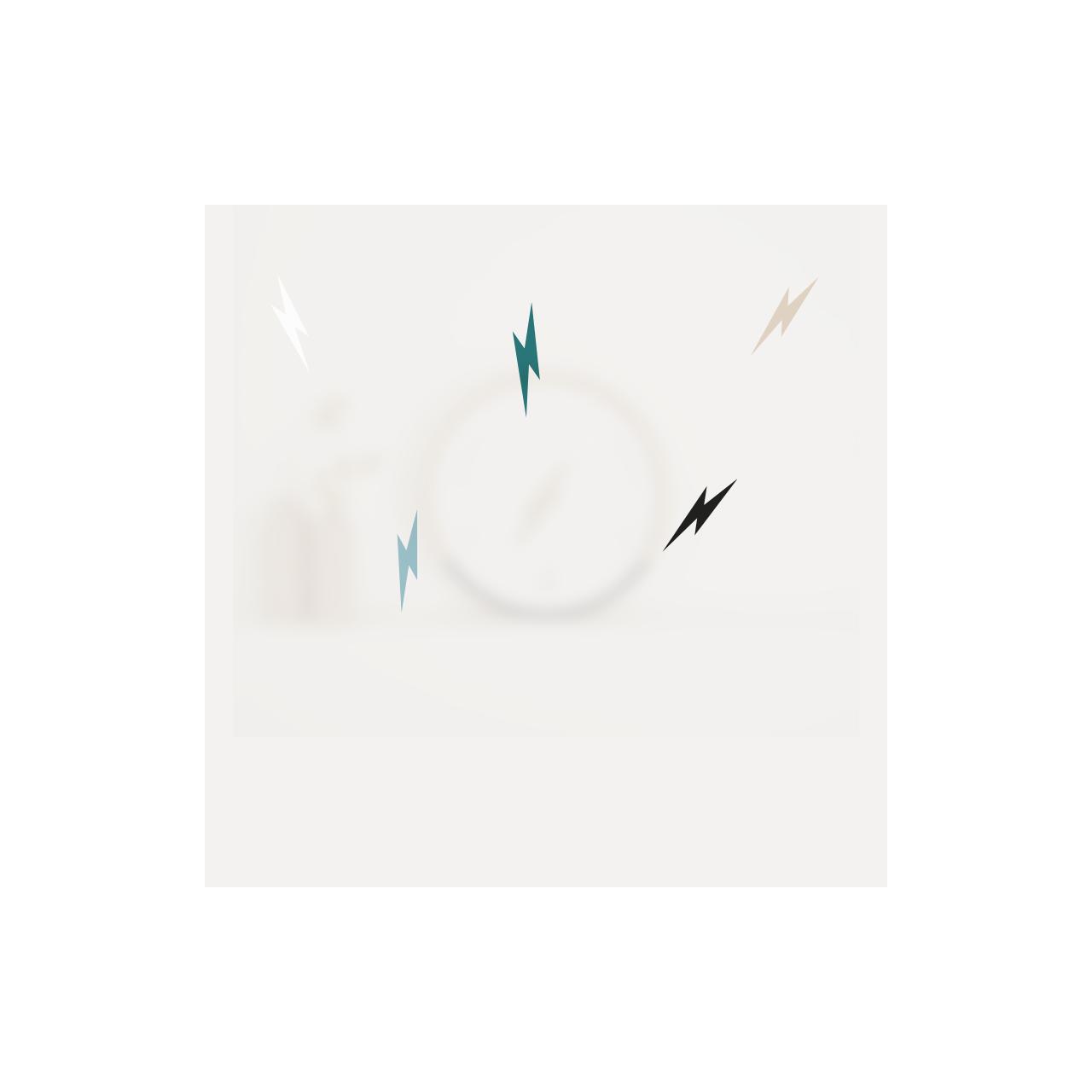 Horloge des marées La couleur du ciel en un éclair - 1