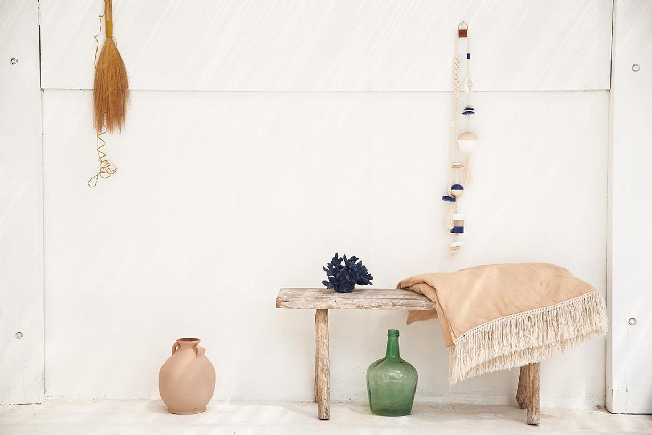 Guirlande flotteur bois décoratif à suspendre | Ocean Clock