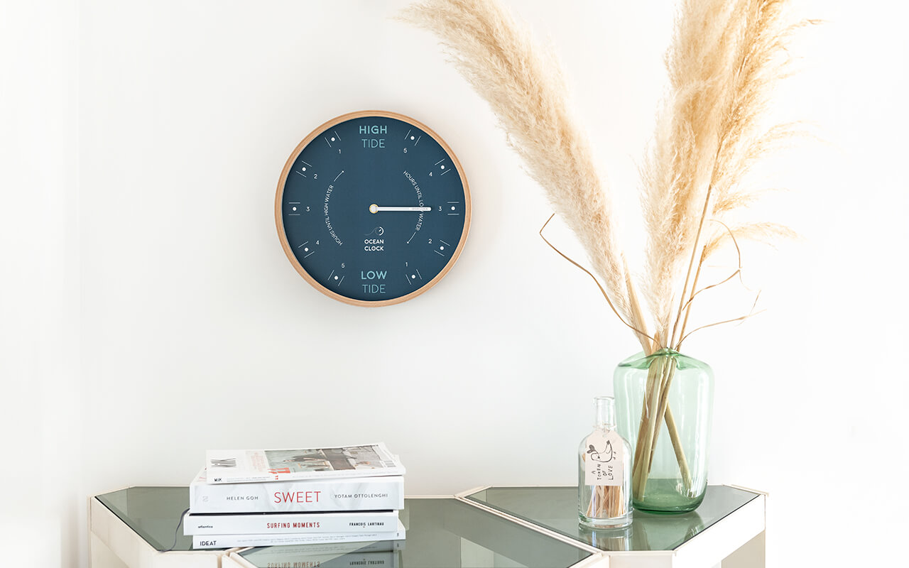 Wooden tide clock online : customize your tide clock